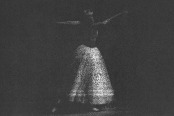 Beppu - Post Content, ghostly image of dancer
