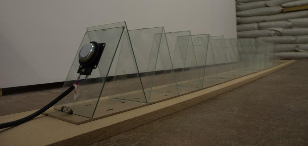 Either Ear, Ryoko Akama installation view
