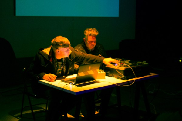 Chris Herbert and Nicholas Bullen, SOUNDkitchen performance November 2014