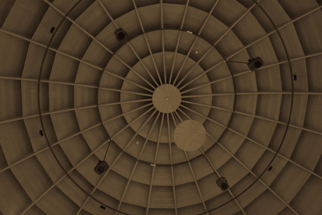 BEASTdome at University of Birmingham, domed roof with speaker array