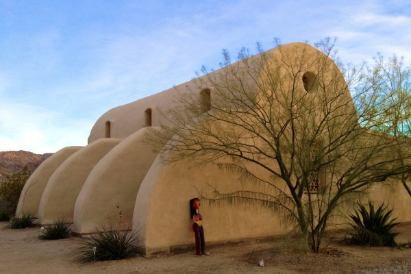 Danny Paul Grody 1, Harrison House exterior in desert