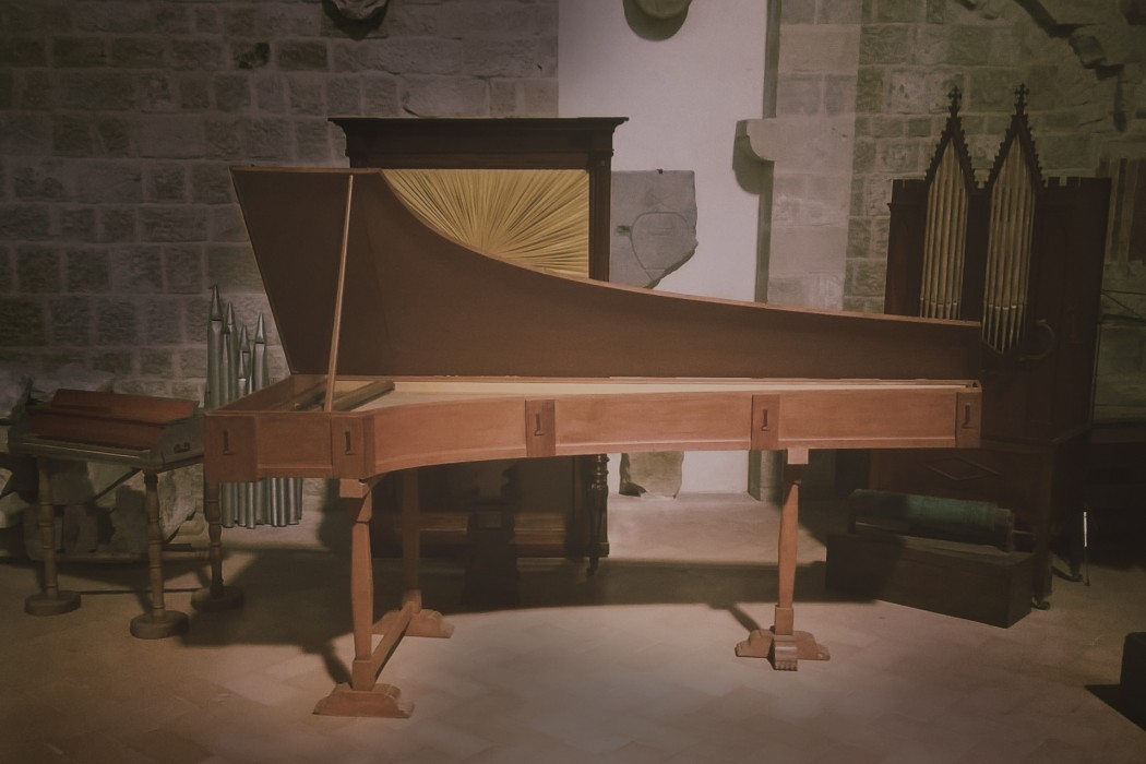 Alessio Ballerini, Beautiful Ground - antique piano in old church