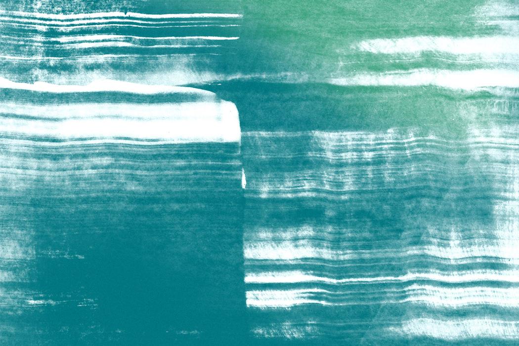 Strië, Struktura - streaky blue and green lines