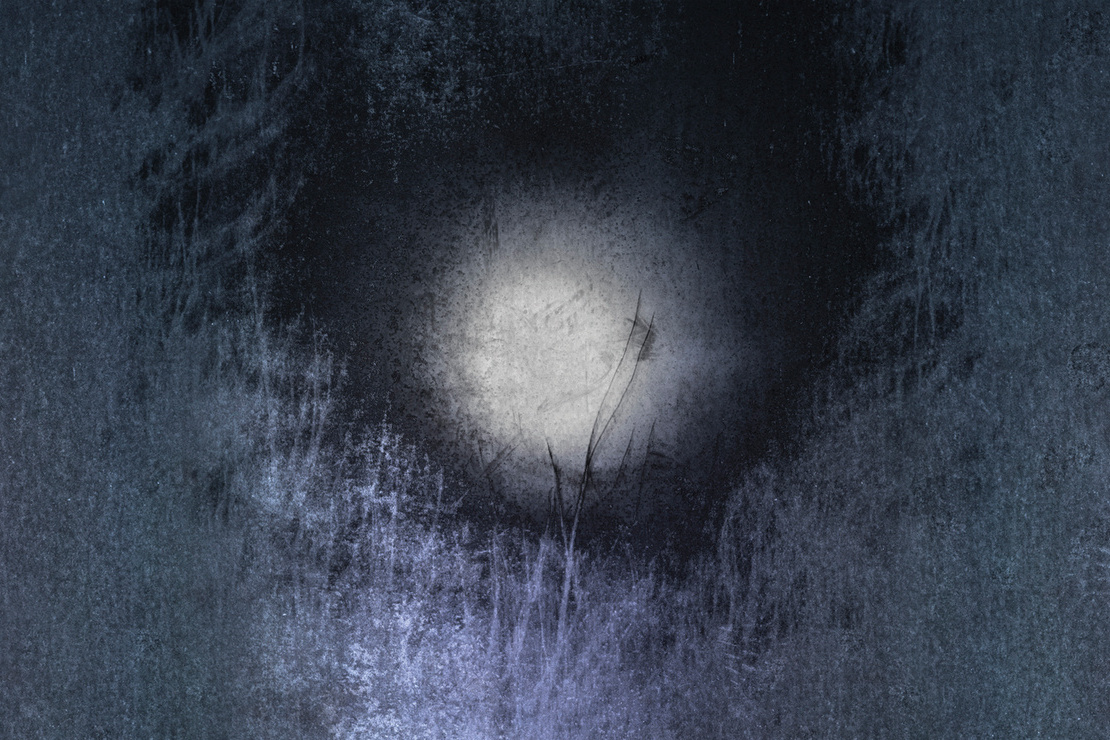 offthesky - Light Loss, dark drawing of moon or maybe closed eye