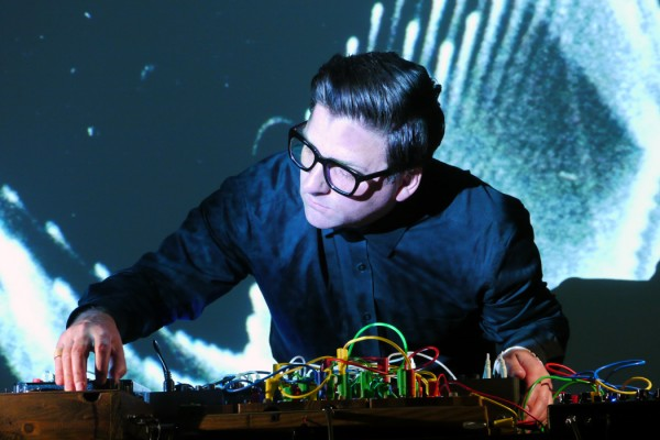 Sonica 2015 - Mark Lyken, artist performing with analogue electronics