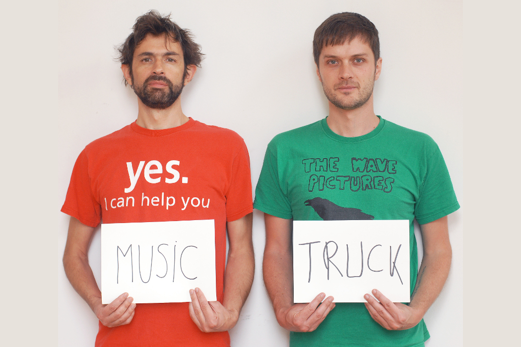 Music Truck, Sylvain Chauveau and Florent Garnier