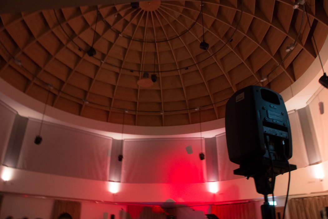 BEAST FEaST 2016: Real/Unreal, Dome Room with multichannel speaker system