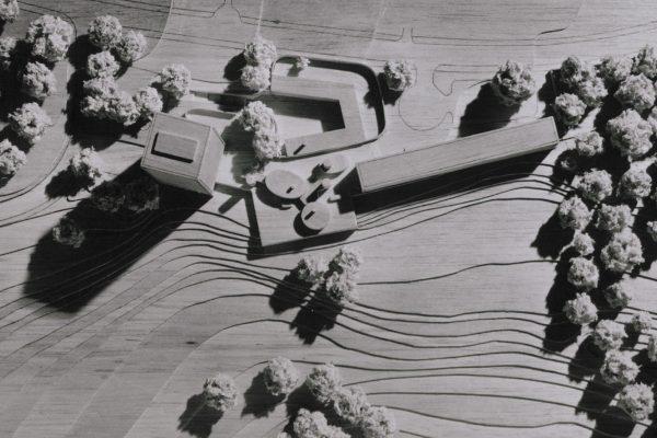 Chris Herbert - Katushki, architect's models showing university halls of residence