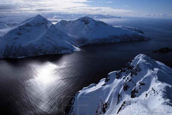 Mountains on the Arctic Ocean