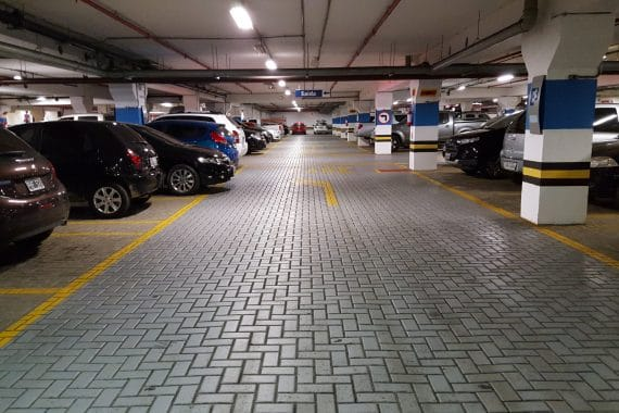 Noise (wanted and unwanted), a subterranean car park