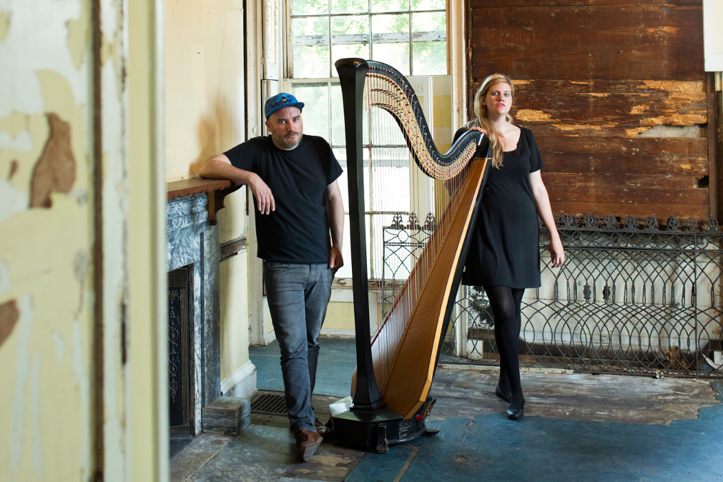 Mary Lattimore and Jeff Zeigler by Ryan Collerd