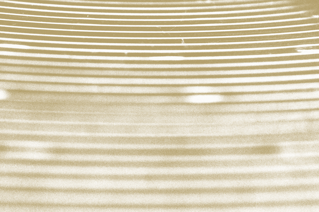 Machinefabriek - Drum Solos, closeup of a cymbal in sepia