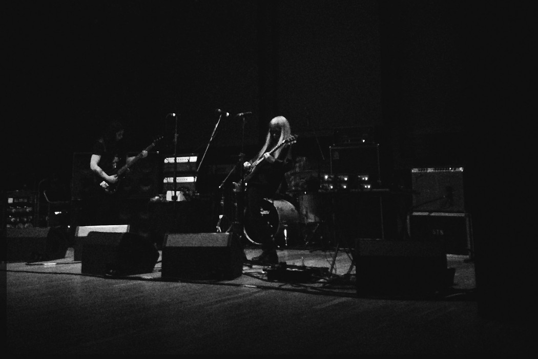 Nazoranai, photo by Scott Simpson, musicians performing onstage