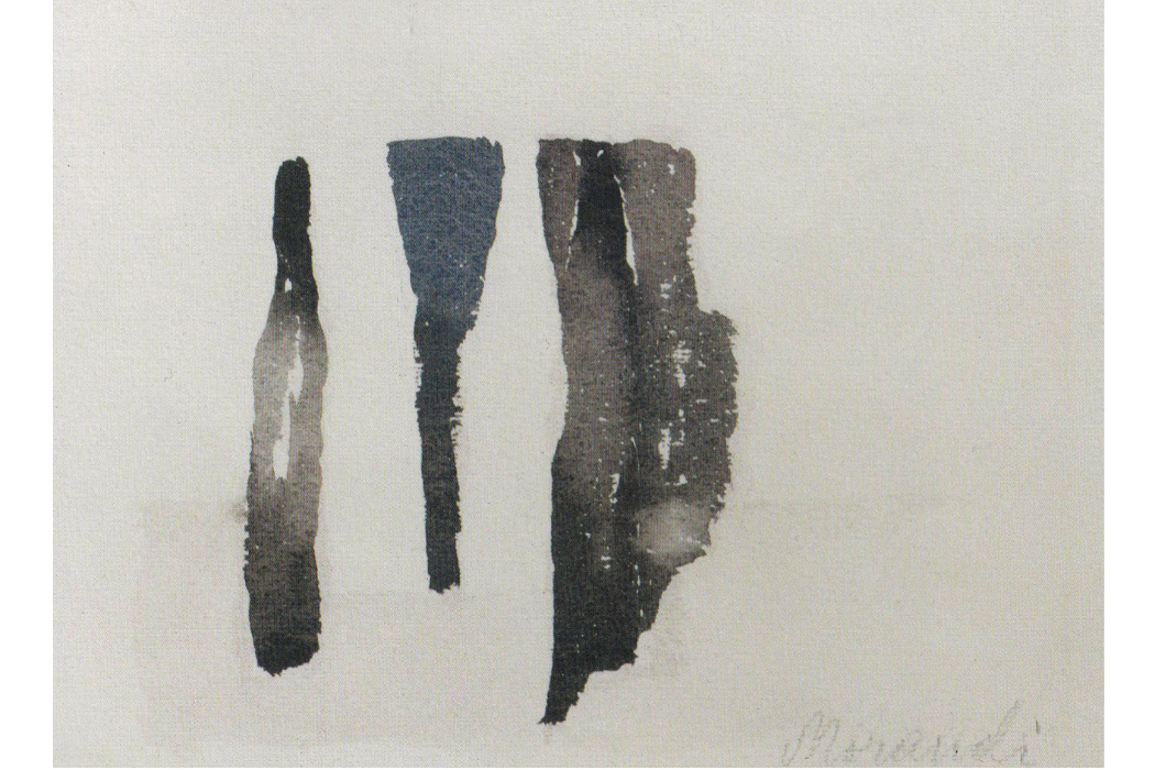 Jürg Frey - Grizzana and other pieces, fragmented still life painting by Giorgio Morandi