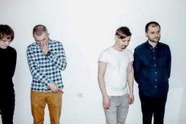 Trupa Trupa, four male bandmates against a white background
