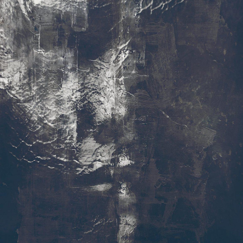 René Aquarius - Blight, dark textured image that may be a face