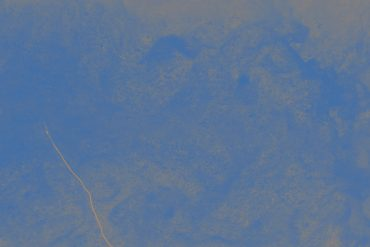 Various - Aqua Matrix, blue tinted image of what looks like a watery landscape