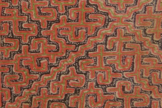 Tyler Wilcox - Works For Two Chapels, intricate labyrinthine pattern in ochre.